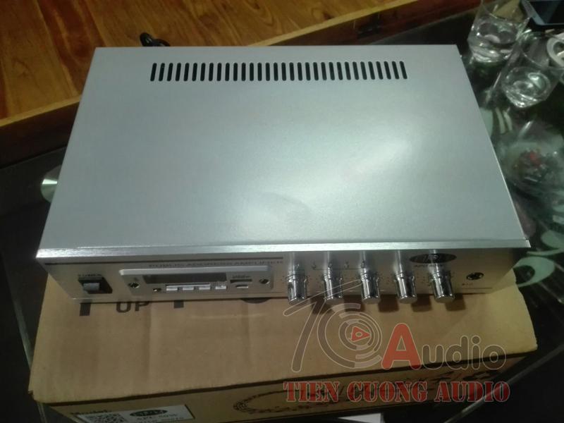 Thiết kế bên ngoài của Amply APU 50W nhỏ gọn tiện dụng