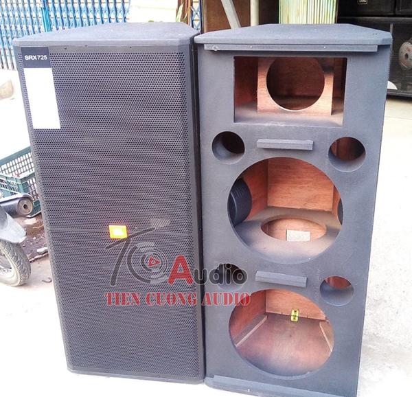 Vỏ thùng loa JBL 725 full đôi bass 40 nguyên bản