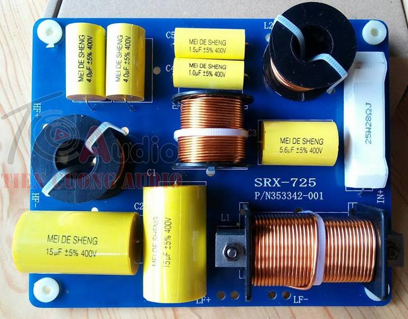 Mạch phân tần loa JBL SRX 725