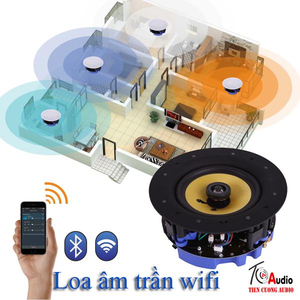Hệ thống loa âm trần wifi thông minh hiện đại