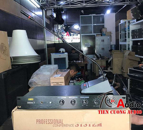 Bộ điều khiển trung tâm APU 8000CT dùng cho hệ thống micro hội nghị chuyên nghiệp