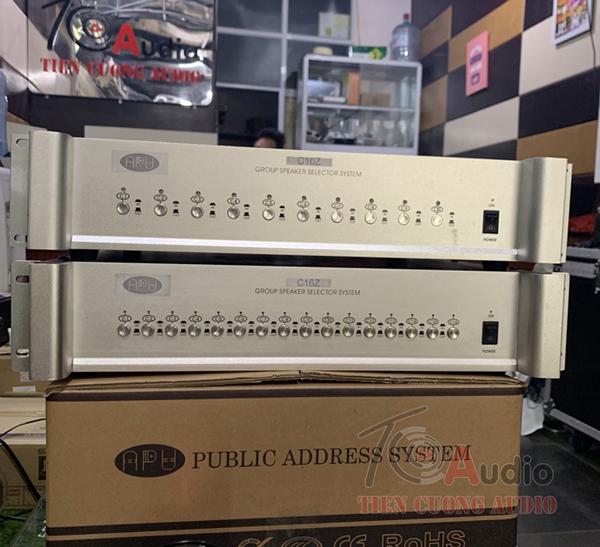 Bộ phân 10 vùng APU C10Z và phân 16 vùng APU C16Z