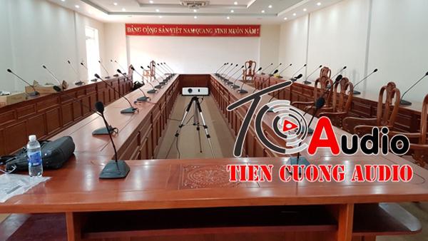 Setup hệ thống loa hội nghị hội thảo chuyên nghiệp