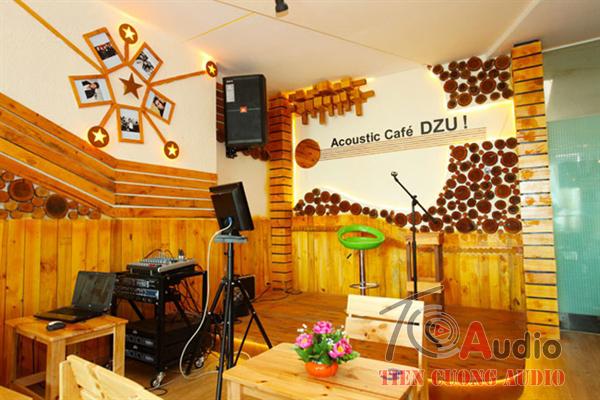 Hệ thống âm thanh cho phòng trà chuyên nghiệp hiệu quả