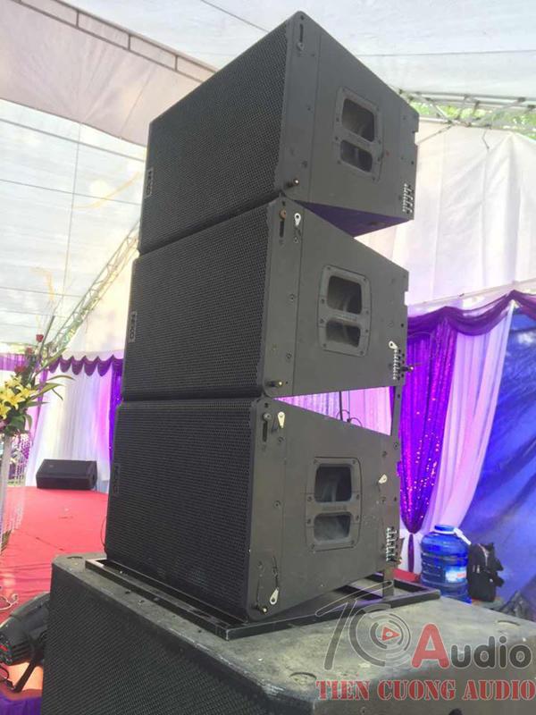 Dùng loa aray chơi đám cưới là đỉnh cao nhất hiện nay với tần suất âm thanh khủng