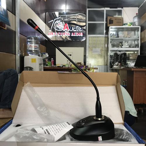 Micro cổ ngỗng để bàn APU MF1201 độ nhạy cao, không hú rít, tiếng chuẩn