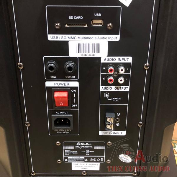 Cổng Audio Input là cổng nhận tín hiệu âm thanh từ tivi xuống