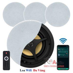 Loa âm trần wifi cho hệ thống âm thanh đa vùng