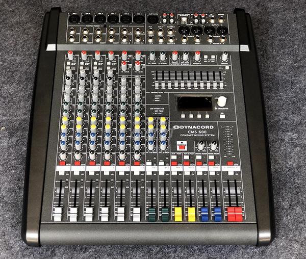 Mixer Dynacord CMS-600 đẳng cấp âm thanh sân khấu hội trường