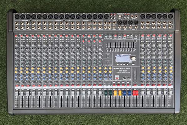 Hình ảnh thực tế của mixer để khách hàng tham khảo
