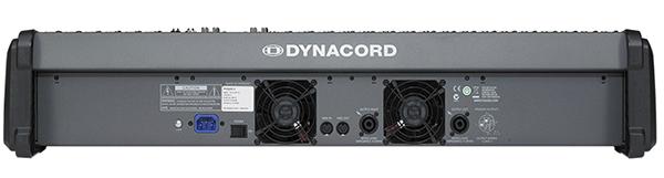 Mặt sau Mixer Dynacord Powermate 2200