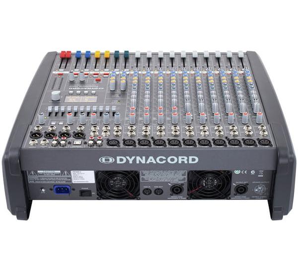 Mặt sau mẫu mixer Dynacord