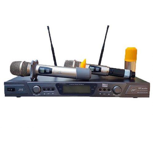 Micro karaoke BF Audio J10 đẳng cấp âm thanh karaoke hiện đại