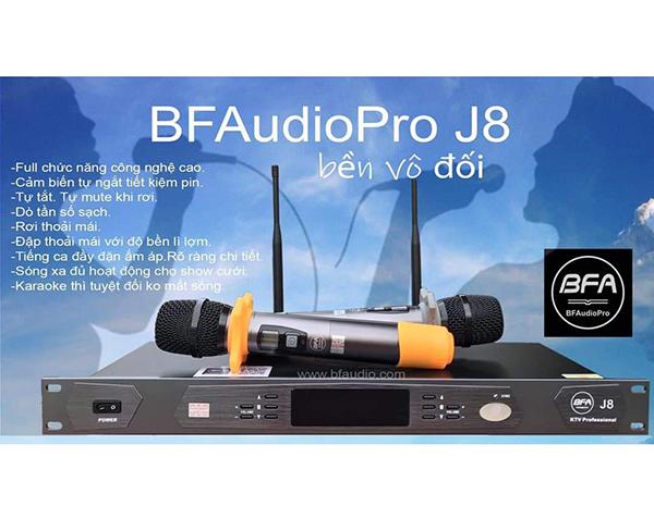 Micro karaoke BFaudio J8 hàng chính hãng, đẳng cấp quốc tế