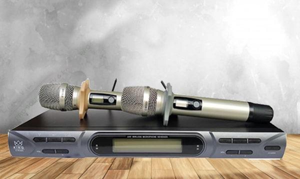 Micro không dây King hát karaoke chuyên nghiệp