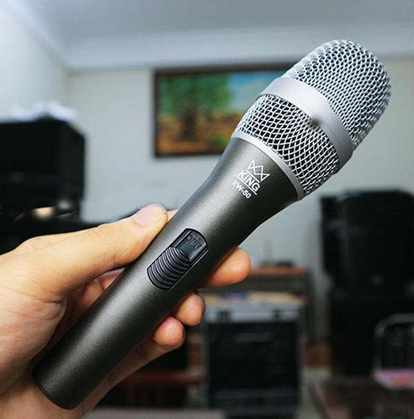 Micro có dây King Audio kiểu dáng hiện đại tinh tế