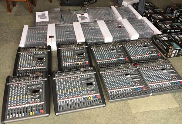 Phân phối mixer Dynacord tại Tiến Cường Audio