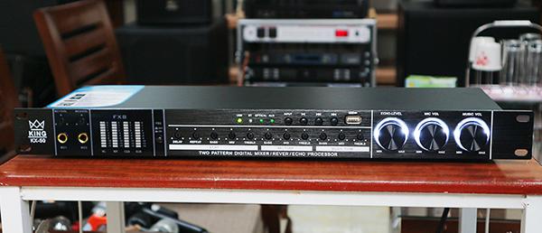 Mặt trước vang cơ King Audio với nhiều tính hiện đại hàng đầu