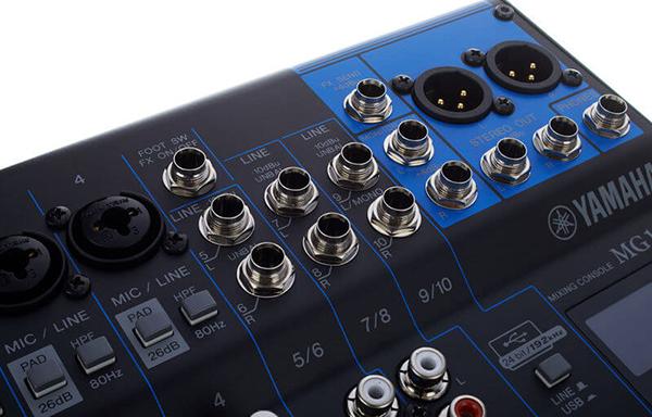 Thiết kế mixer dễ dàng sử dụng đối với người dùng