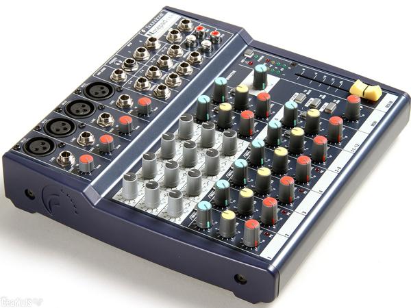 Mixer Soundcraft nhỏ gọn sử dụng đơn giản dễ dàng