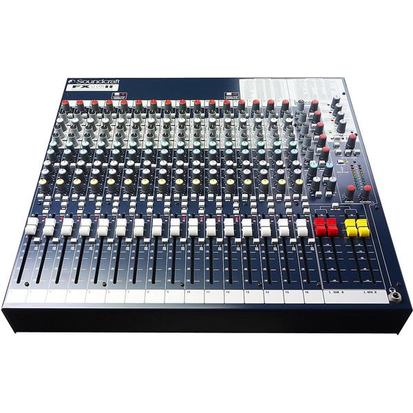 Mixer soundcraft chuyên hội trường sân khấu chuyên nghiệp