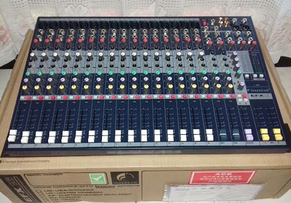 Mixer soundcraft efx16 chuyên sân khấu hội trường, sân khấu chuyên nghiệp