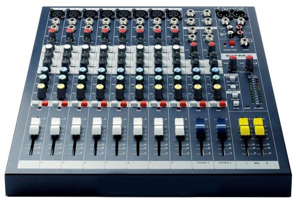 Mixer Soundcraft-epm8 chuyên sân khấu hội trường, sự kiện