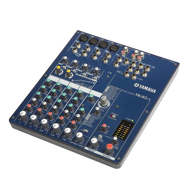 Mixer Yamaha 82CX thiết kế nhỏ gọn cực kỳ hiệu quả