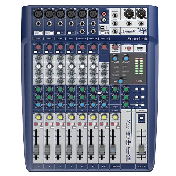 Soundcraft signature 10 mixer chuyên sân khấu hội trường chuyên nghiệp