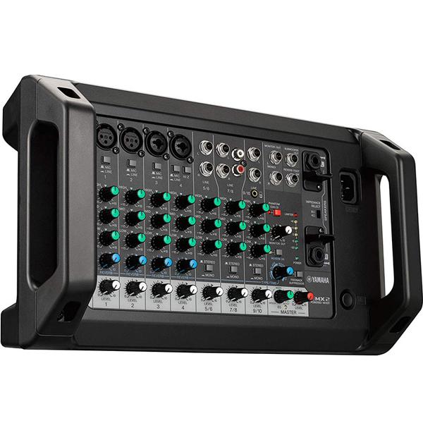 Mặt trước của mixer Yamaha EMX2