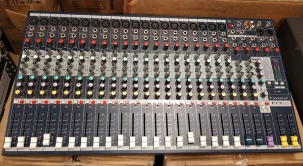 Mixer soundcraft MPMI20 chuyên dùng sân khấu hội trường chuyên nghiệp