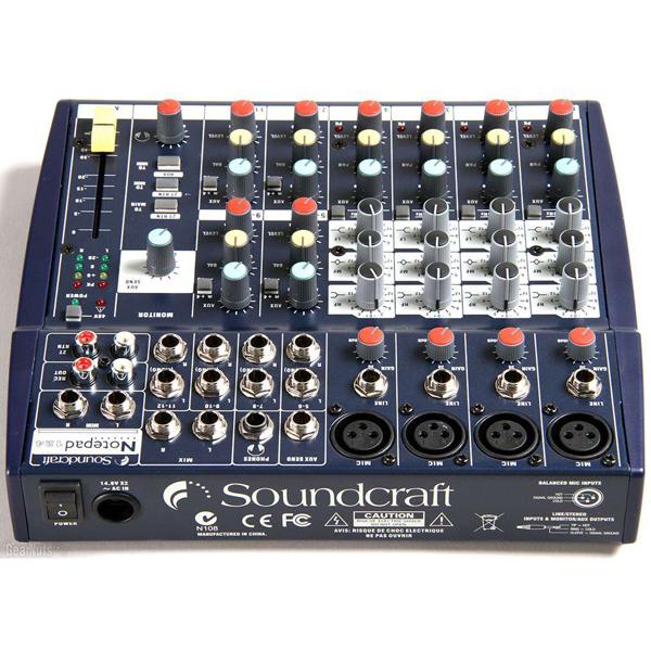 Soundcraft Notepad 124 hay chính hãng