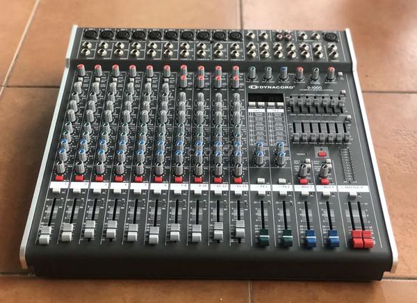 Mixer Dynacord D1600 chuyên sân khấu hội trường, sự kiện