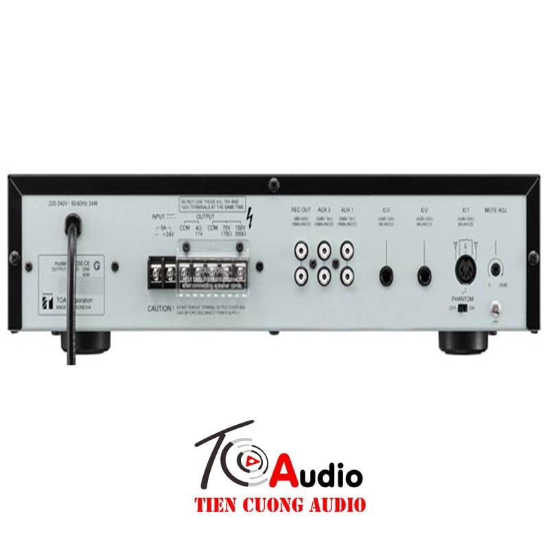 Mặt sau Mixer Toa A-2240D-AS1-F02